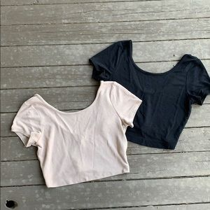Fitted Crop Tops
